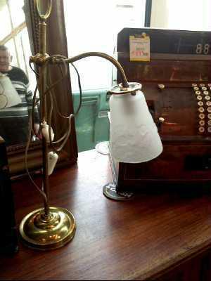 Lampe ancienne art deco d 39 occasion for Lampe exterieur ancienne