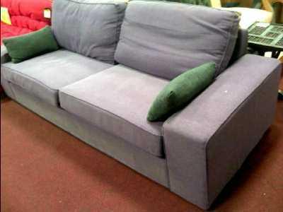 canape 3 places pourpre d 39 occasion. Black Bedroom Furniture Sets. Home Design Ideas