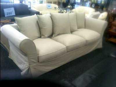 canape maison du monde 3 places lin d 39 occasion. Black Bedroom Furniture Sets. Home Design Ideas