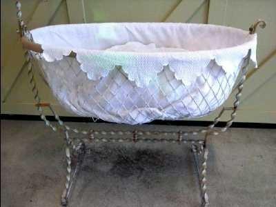 berceau fer forge d 39 occasion. Black Bedroom Furniture Sets. Home Design Ideas