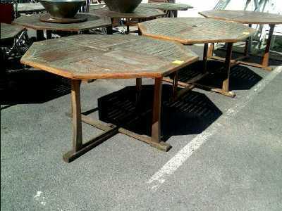 table de jardin d 39 occasion. Black Bedroom Furniture Sets. Home Design Ideas