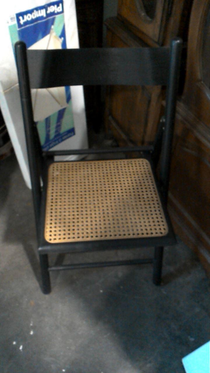chaise pliante canne d 39 occasion. Black Bedroom Furniture Sets. Home Design Ideas