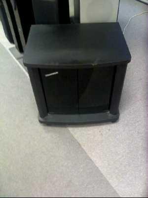 meuble tv moderne noir d 39 occasion. Black Bedroom Furniture Sets. Home Design Ideas