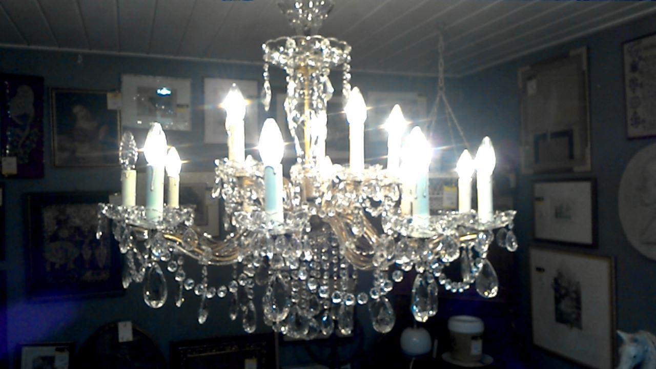 Lustre cristal d 39 occasion - Lustre cristal occasion belgique ...